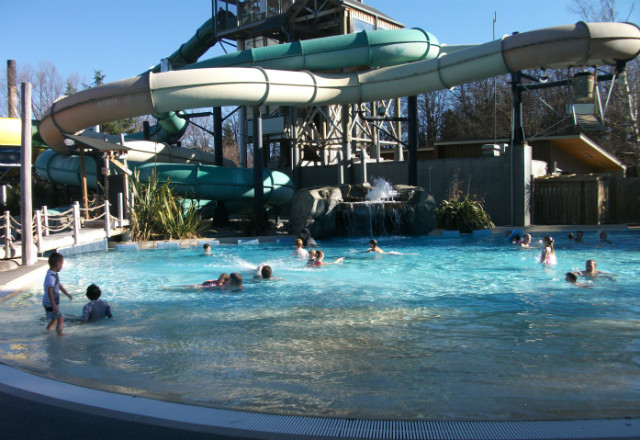 Family pool at Hanmer Springs Thermal Pools