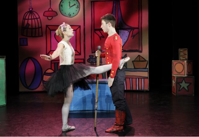 Tin Soldier at the Key Theatre. Image: Peut-Etre Theatre