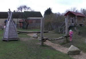 Playground at Fineshade Woods