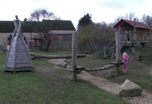 Playground at Fineshade Woods