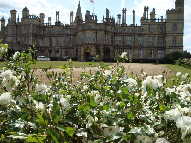 Burghley House in summer