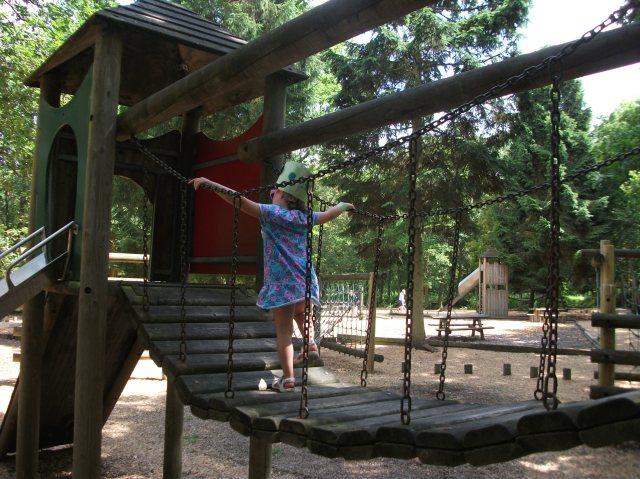 Grimsthorpe Castle playground