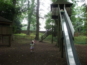 One of the slides at Belton House