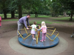 Merry-go-round at Belton House