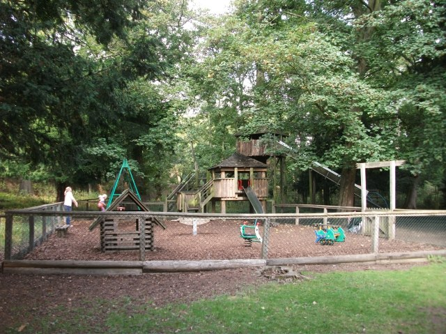 Under 5s playground at Belton House