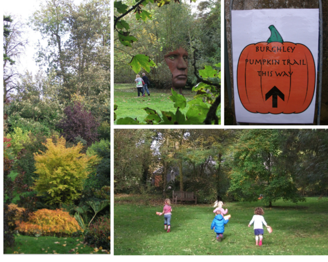 Burghley House pumpkin trail