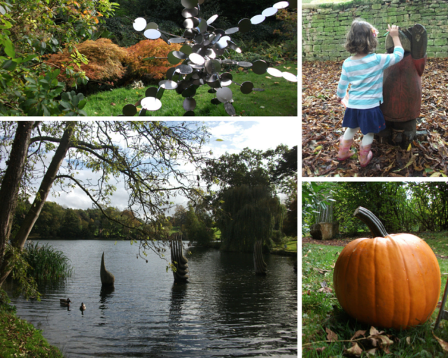 Pumpkin trail at Burghley