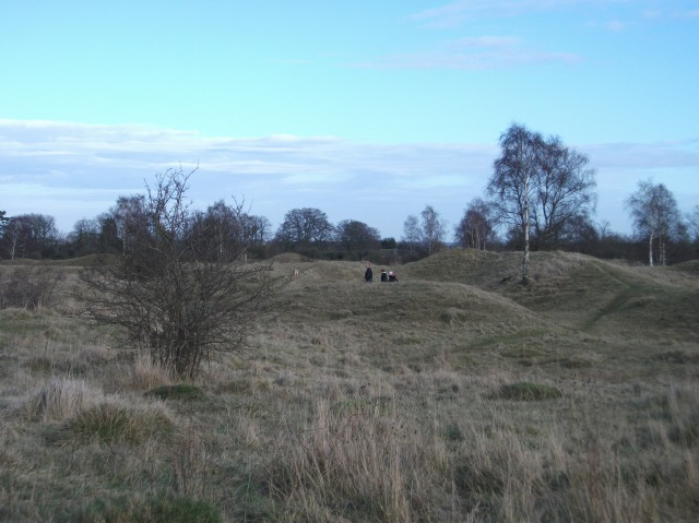 Hills and Holes in Barnack