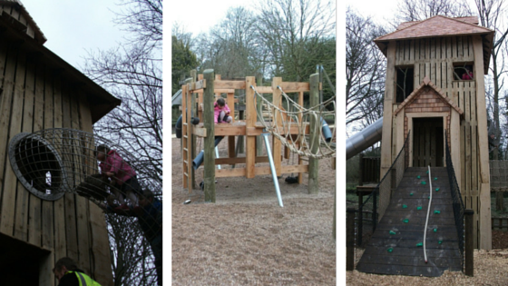 New playground at Belton House