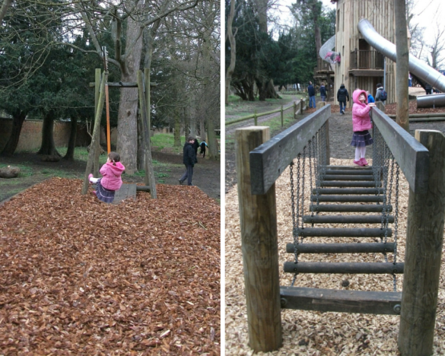 Belton House playground