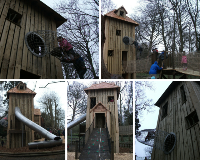 Play tower at Belton House