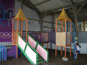 Pigeons Farm indoor play area